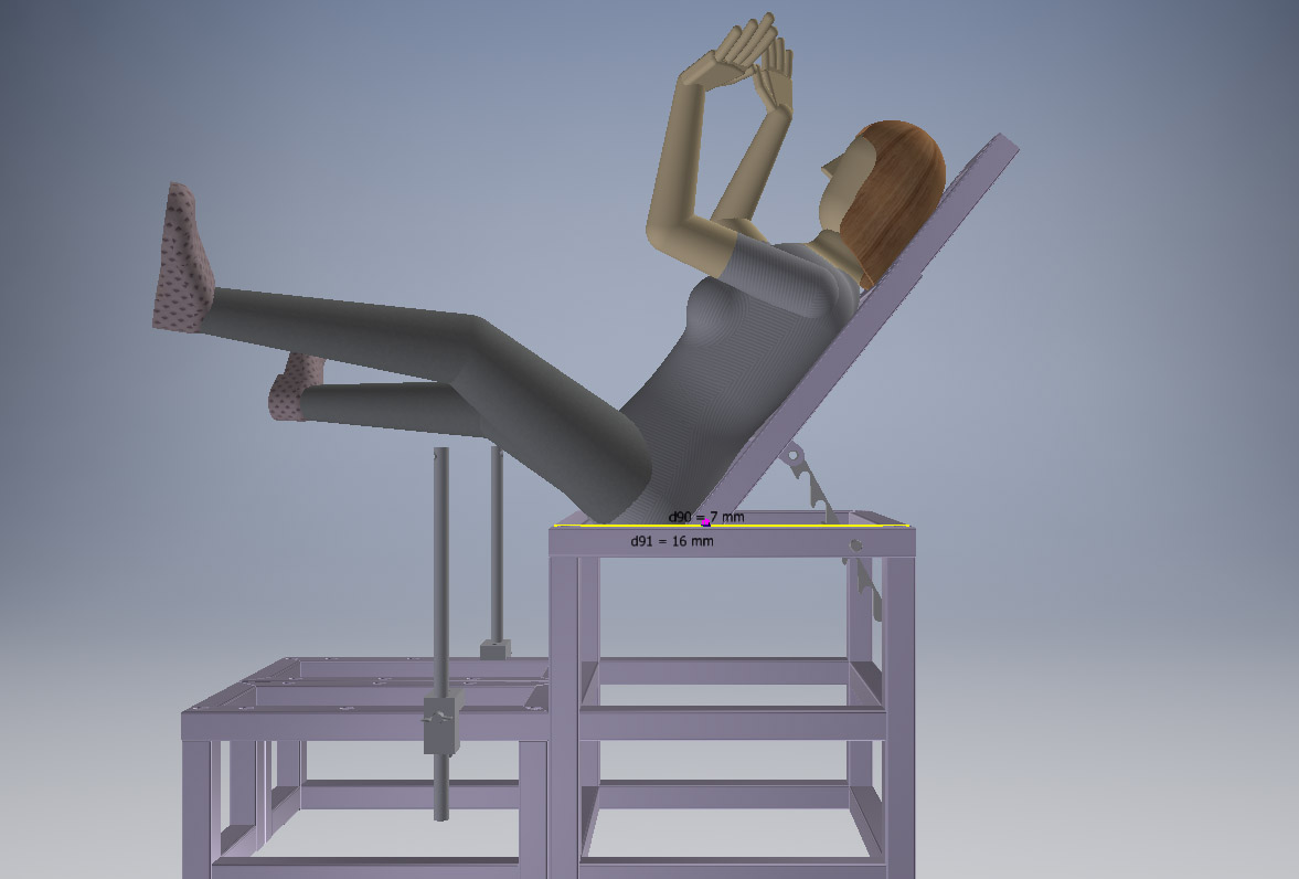 PRESENTABLE POSITION GYNE VUE LATERALE